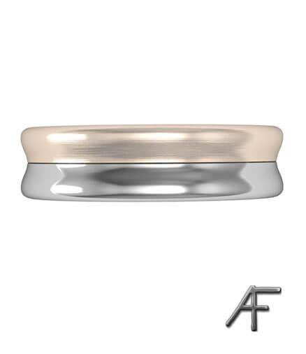 2 färgad guldring 6 mm