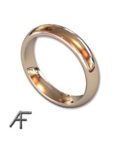 4 mm slät ring omarbete