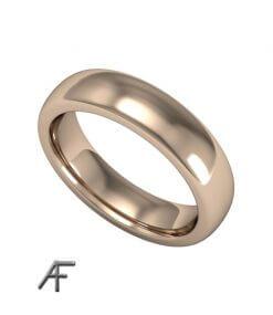 5 mm bred ring i guld