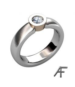 diamantring 0.22 ct