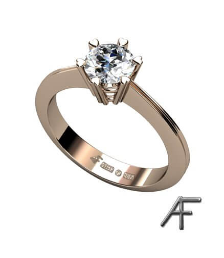 0.70 ct diamantring