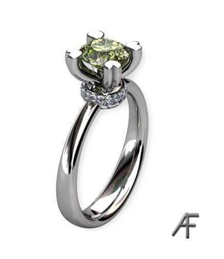 enstensring grön diamant