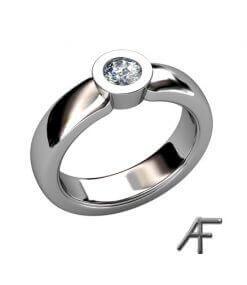 enstensring vitguld diamant