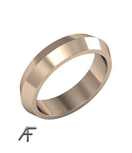 förlovningsring 18 k v profil