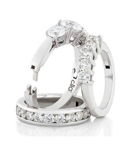 diamantringar guldringar öppningsbara