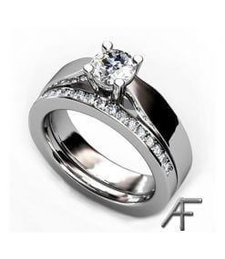 happy vitguldsring med diamant