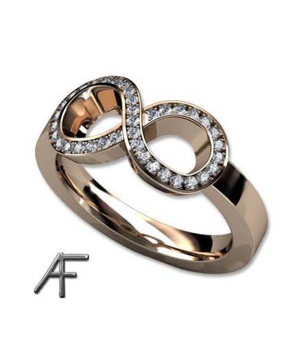 infinity diamantring