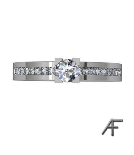 amor vitguldsring med diamanter