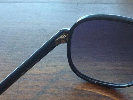lasersvetsade glasögon och riktade gångjärn