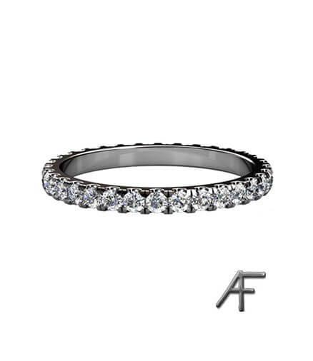 diamanter alliansring eternity