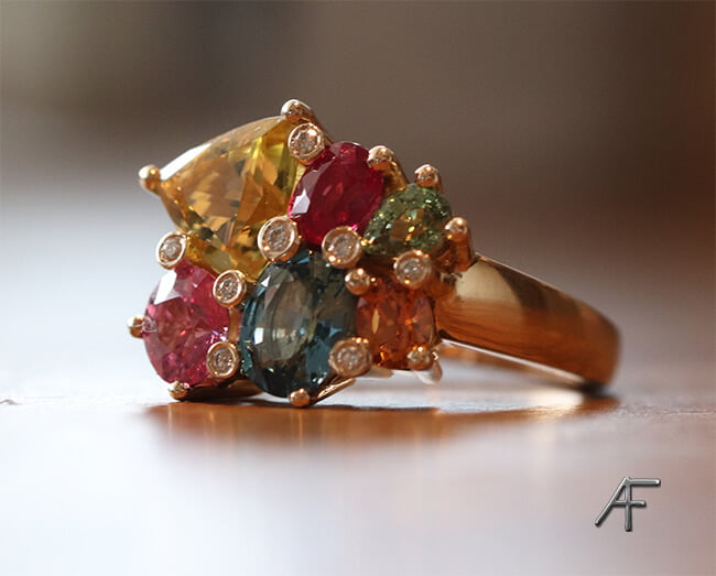 unik ring designad